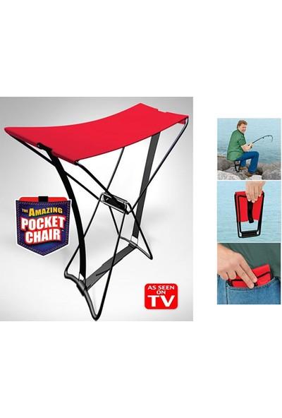 Pratik Katlanabilir Portatif Tabure Pocket Chair