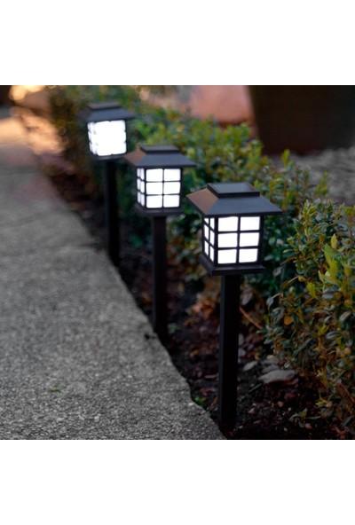 Pratik Sokak Lamba Tasarımlı Solar Bahçe Lambası