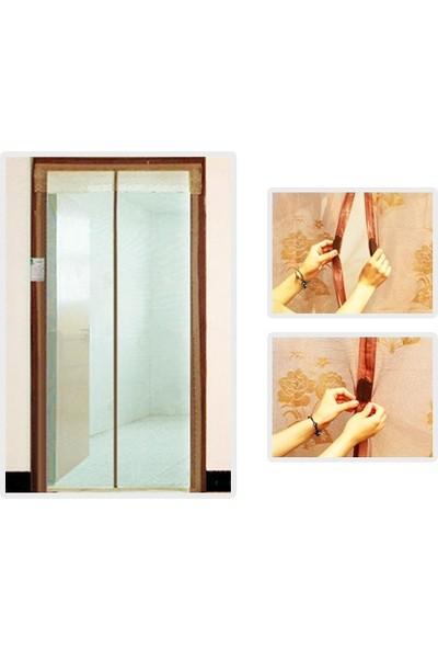 Pratik Mıknatıslı Kapı Sinekliği 90 cm x 210 cm Krem