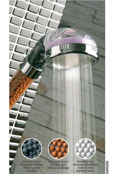 Pratik Su Tasarruflu ve Arıtmalı Duş Başlığı