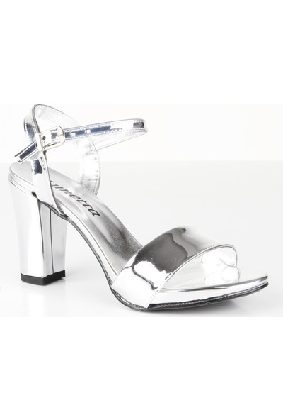 Veyis Usta Kadın Bilek Bağlamalı Lame Yazlık Sandalet