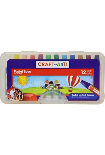 Craft and Arts Pastel Boya 12'li PP Kutu