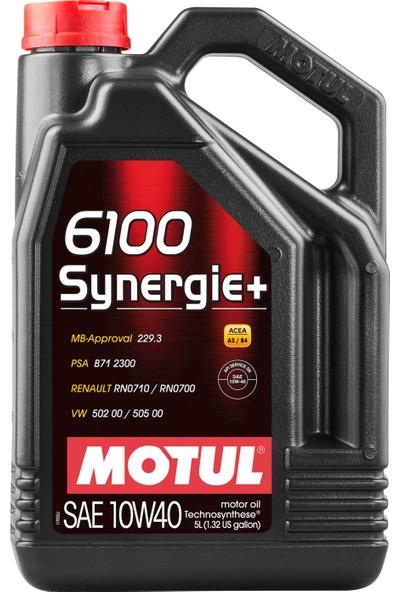 Motul 6100 Synergie+ 10W40 5 Litre Motor Yağı