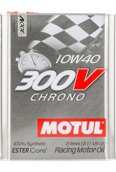 Motul 300V Chrono 10W-40 2 Litre Motor Yağı ( Üretim Yılı: 2020 )