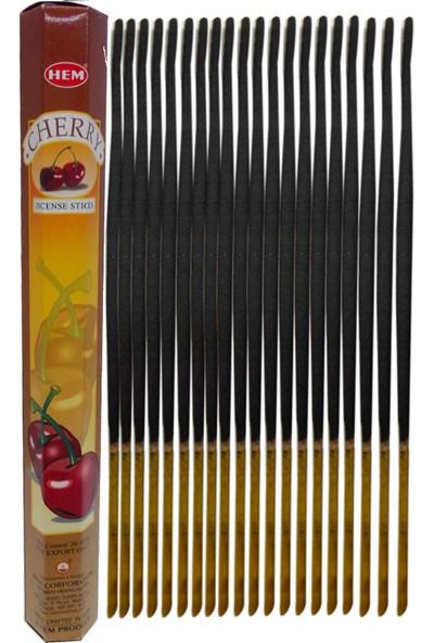 Hem Tütsü Kiraz Çubuk Tütsü 20li (Cherry)