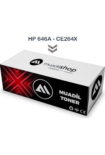 Hp 646X - Ce264X Muadil Toner Siyah - Cm4540/Cm4540F/Cm4540Fskm