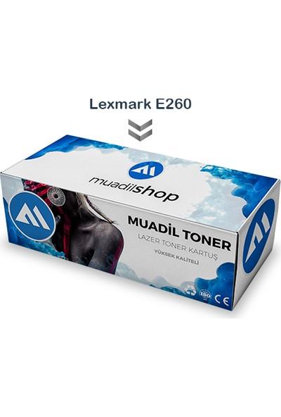 Lexmark E260 - E260A11E Muadil Toner - E360 / E460 / E462