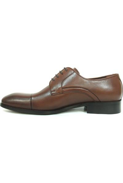 Aksin 189 Kahverengi Bağcıklı Erkek Ayakkabı
