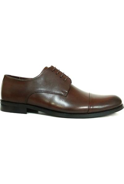 Tozkoparan 401 Kahverengi Bağcıklı Erkek Ayakkabı