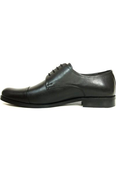 Tozkoparan 401 Siyah Bağcıklı Erkek Ayakkabı
