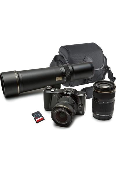 Kodak Pixpro S-1 3 Adet Lens,Çanta Ve Sd Kart Hediyeli Dslr