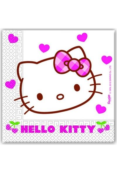 Elitetime Kağıt Peçete Hello Kıtty Hearts P20-Kl30 - Be7940