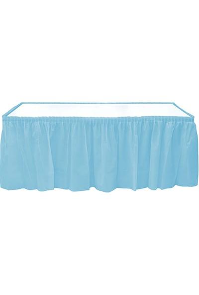 Elitetime Masa Kenarı Eteği Plastik Mavi P1-48 - Ar1510M