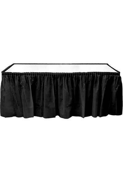 Elitetime Masa Kenarı Eteği Plastik Siyah