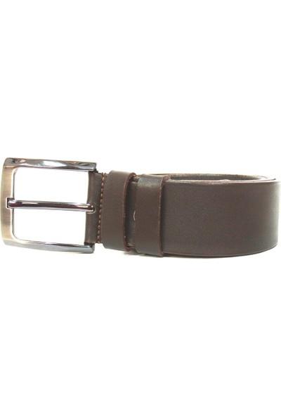 Shoepi 5200 Kahverengi %100 Hakiki Deri Klasik Erkek Kemer