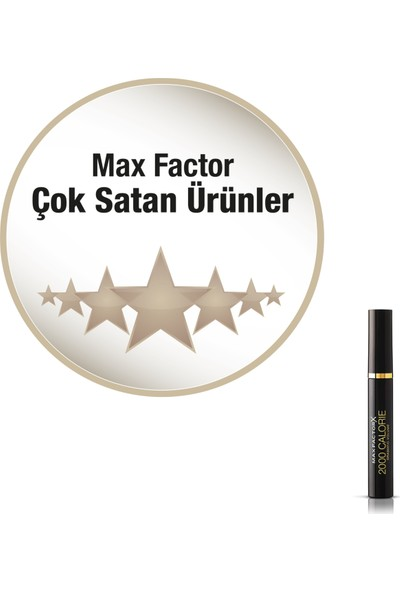 Max Factor 2000 Calorie Maskara Siyah