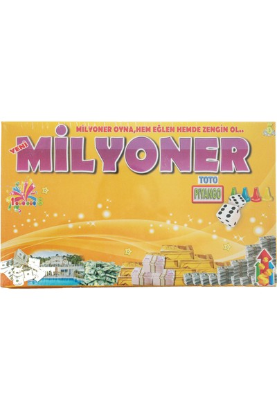 Çeyiz Diyarı Milyoner Eğlendirici Oyun Seti