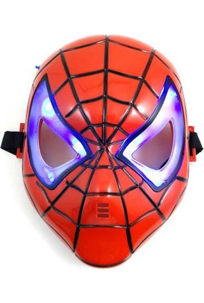 Çeyiz Diyarı Işıklı Örümcek Adam Maskesi