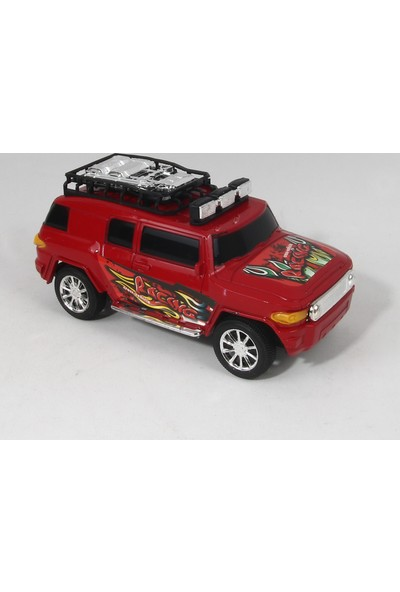 Can Ali Toys Top Racing Safari Sürtmeli Oyuncak Jeep S333 - 1A 19 cm