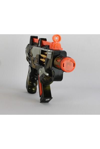 Can Ali Toys Gun Pilli Işıklı Sesli Taramalı Silah 3801 30 cm