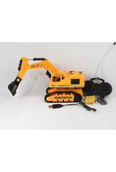 Can Ali Toys The God Of Earth Uzaktan Kumandalı Excavator Pilli Şarjlı 37 cm