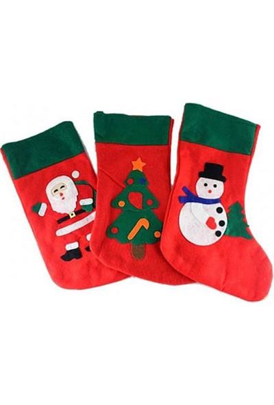 Wildlebend Yılbaşı Özel Noel Baba Hediye Çorabı