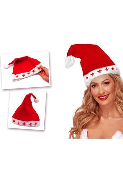 Wildlebend Yılbaşı Özel Işıklı Noel Baba Şapkası