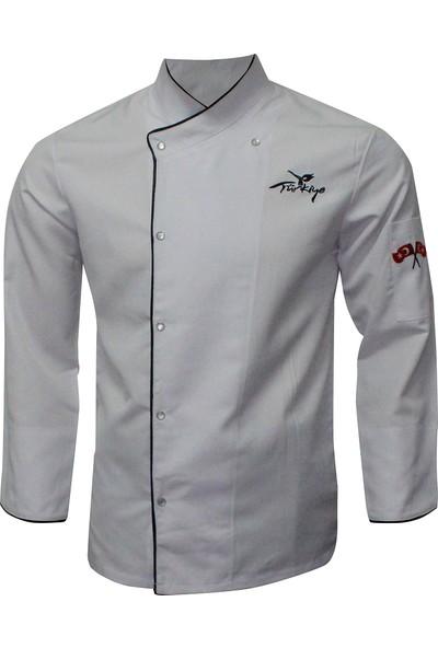 Grey's Uniform Aşçı Ceket