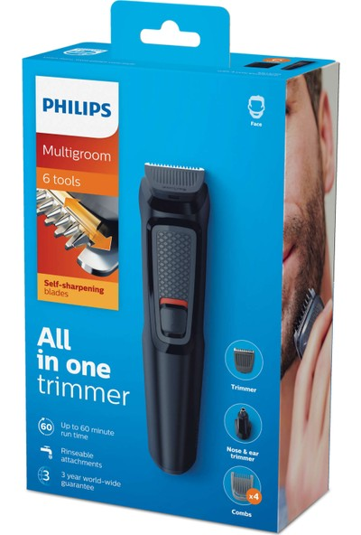 Philips MG3710 Erkek Bakım Seti 6'sı 1 arada