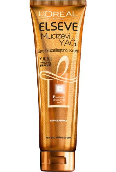 L'Oréal Paris Elseve Mucizevi Yağ Saç Güzelleştirici Krem 150 ml