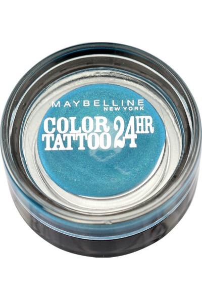 Maybelline New York Color Tattoo 24H Göz Farı 20 Turquoise For