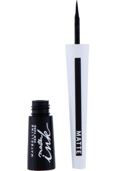 Maybelline New York Master Ink Matte Eyeliner - 01 Charcoal Black