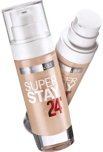 Maybelline New York Superstay 24H Fondöten 021 Nude