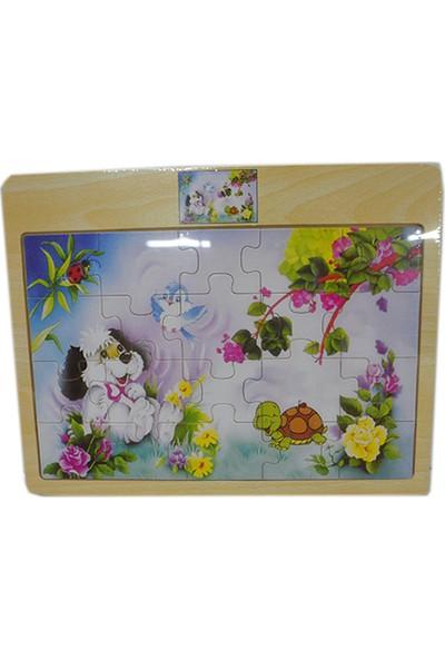 Onyıl Oyuncak 004Tn Ahşap İki Model Puzzle