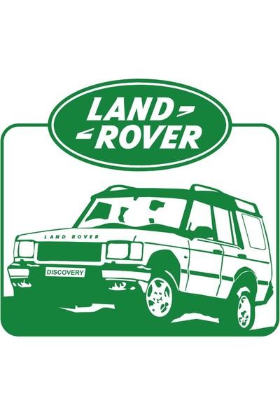 Stickermarket Land Rover Yeşil Sticker