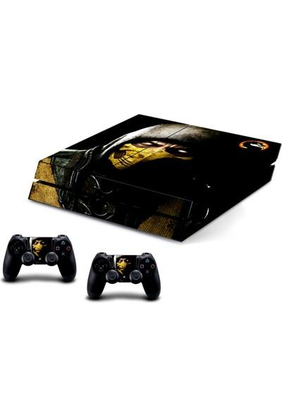 Stickermarket PS4 Fat Mortal Kombat Sticker Seti