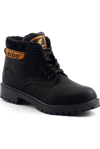 Calsido Termal Astarlı Termo Taban Erkek Çocuk Bot Ayakkabı