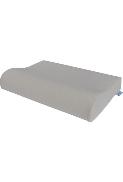 Boyun Destekli Visco Yastık 55 x 35 cm Yumuşak Yastık