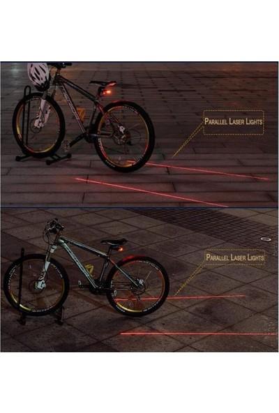 Arsevi Bisiklet Arka Stop ve Lazer Işığı