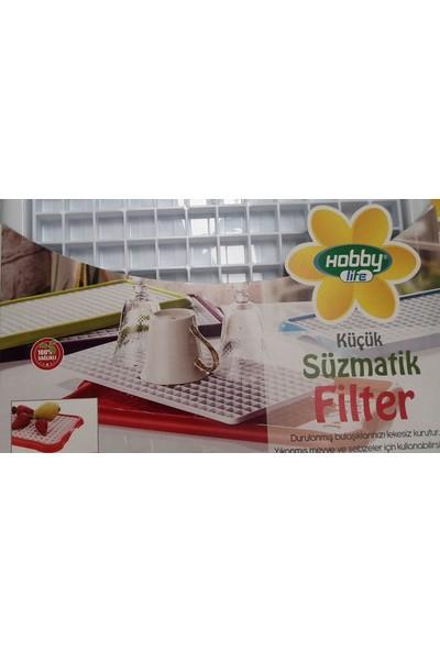 Demirel Plastik Hobby Life 2 Parça Büyük Boy Süzmatik Bulaşık Kurutmalığı 1306