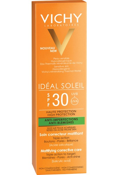 Vıchy Ideal Soleıl Spf30 Antı Blemıshes