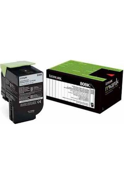 Lexmark Ton Bundle (Cx310) Sıyah 2500 Sayfa 80C8Sk0-Bnd