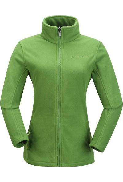 2AS Sparkle Kadın 3İn1 Mont Yeşil