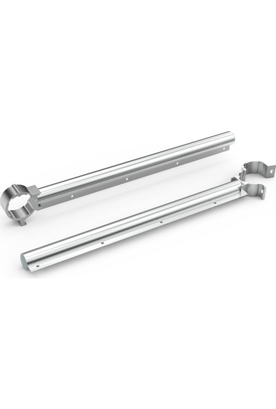 Konmetsan Alüminyum Balkon İçin 8 Metre Çelik İpli Çamaşır Kurutmalığı