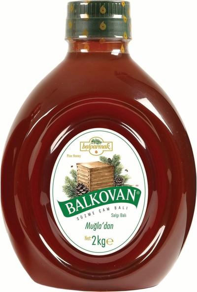 Balparmak 2 kg Balkovan Süzme Çam Balı