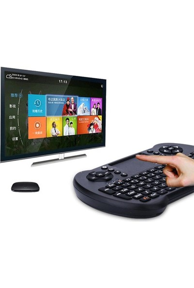 Azemax Air Smart TV Işıklı Mini Klavye Dokunmatik Mouse