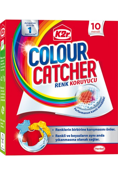 K2R Colour Catcher Renk Koruyucu Mendil