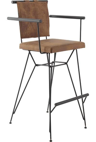 Ak Sandalye Endustrıyel Metal Pyz Bar Sandalyesi