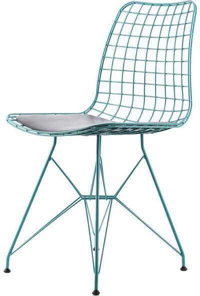 Ak Sandalye Kafesli Metal M7T Sandalye