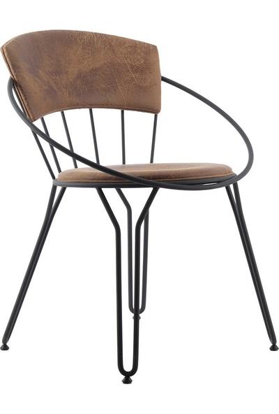 Ak Sandalye Endustrıyel Metal Itlk Sandalye